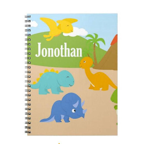 Dinosaur Personalized Notebook