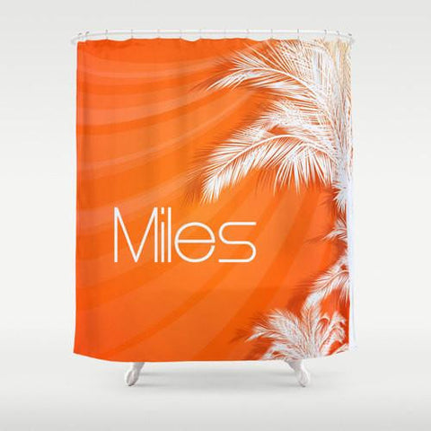 California Dreams Custom Shower Curtain