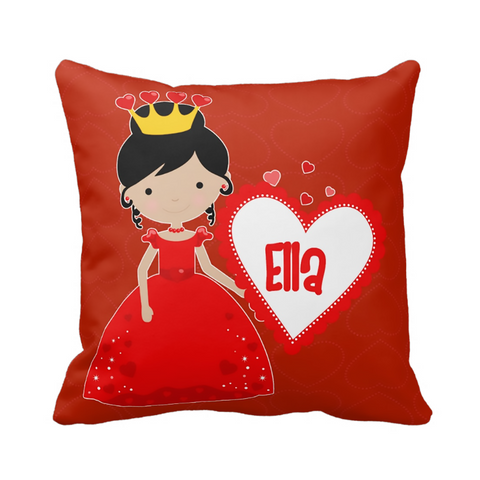 Love Princess Personalized Pillow