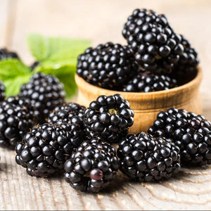 Blackberry Scented Natural Soy