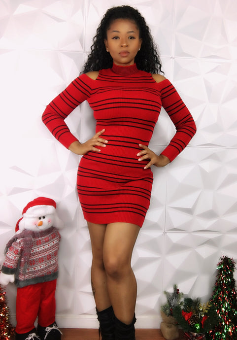 Meka Dress - Red