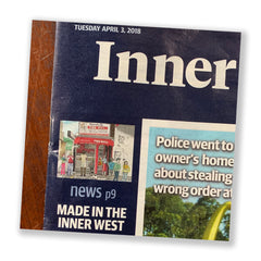 Inner West Courier tile
