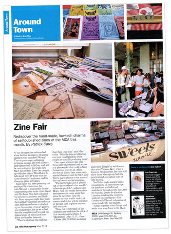 zine Fair Time Out