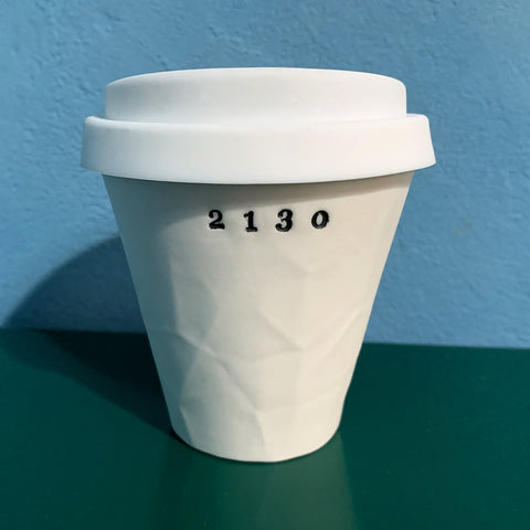 """2130"" Paper Series Porcelain Keeper Cup"
