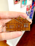 Bungalow Brooch