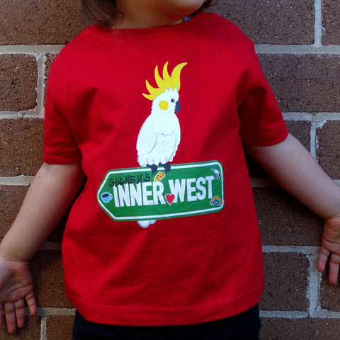 Kid's Sulphur Crest Inner West T-Shirt
