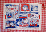 Dorothy Dish and Edward Spoon Tea Towel