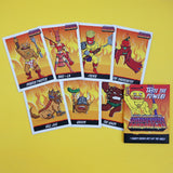 Barbeque Barbarians - Trading Cards