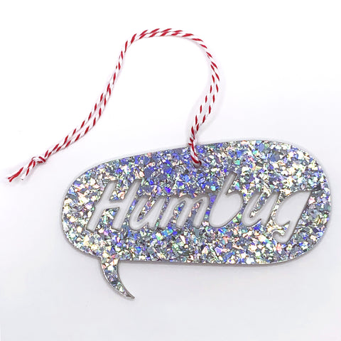 Speech Bauble - Chunky Disco Glitter