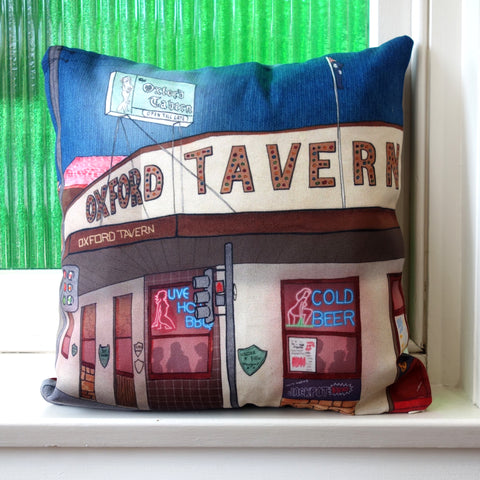 Oxford Tavern Petersham Cushion Cover