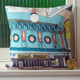 Petersham Roller Skating Rink Cushion Cover
