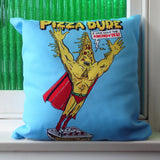 Pizza Dude Cushion Cover