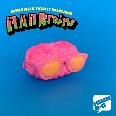 Neonshade - Rad Brains Resin Art Toy