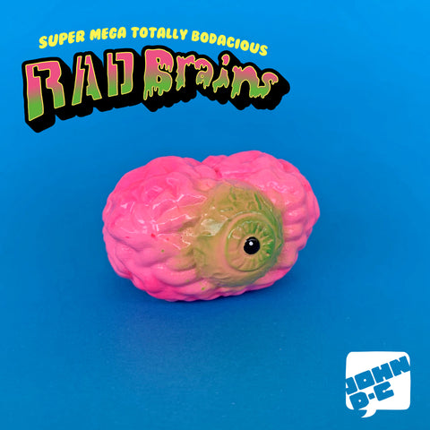 Toxiclops - Rad Brains Resin Art Toy