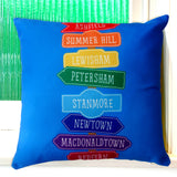 Inner West Line Cushion Cover