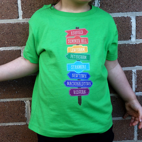 Kid's Inner West Line T-Shirt