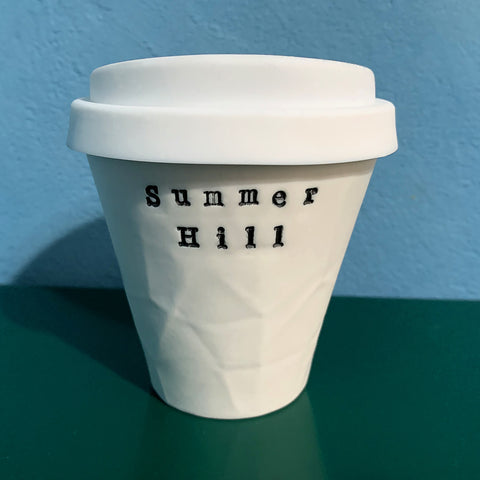 """Summer Hill"" Paper Series Porcelain Keeper Cup"