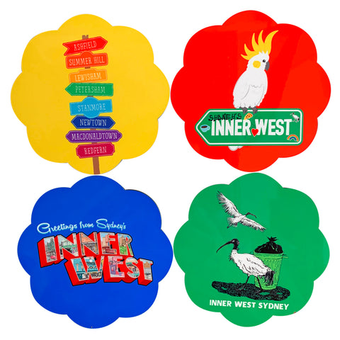 Set of 4 Coasters - Sydney's Inner West