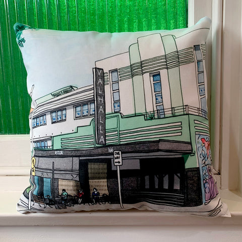 Valhalla Cinema Glebe Cushion Cover