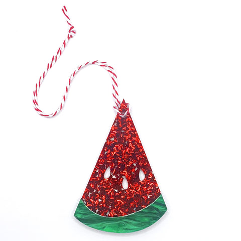 Wonderful Watermelon - Festive Fruits Hanging Decoration