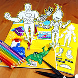 Pack of Heroes - Superhero Activity Book