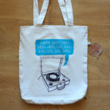 SHBOOM Record Shopping Tote Bag