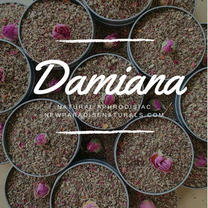 Damiana Tea 🍵 is a must have!🍃it is used to treat headache, depression,  anxiety, stomach pain and constipation