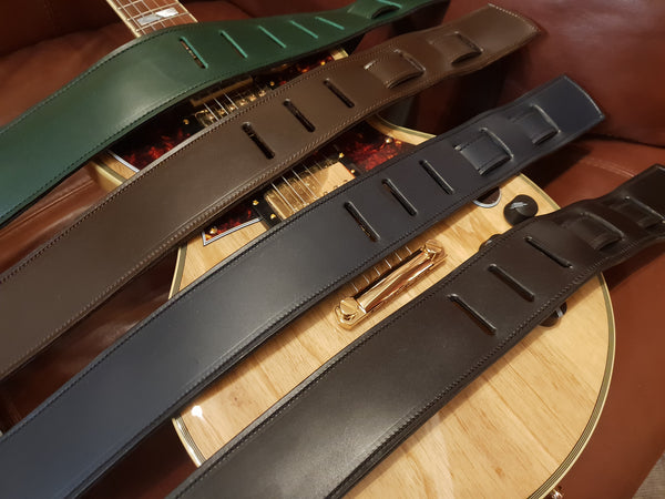 Leather Guitar Straps & Schaller Strap Locks Service