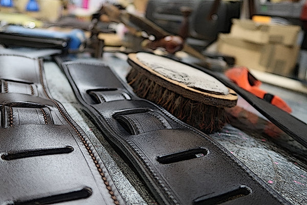 The Finest Hand Made Leather Guitar Straps - Hand Made In Walsall UK