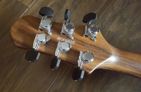 Locking machine heads on Shergold guitars