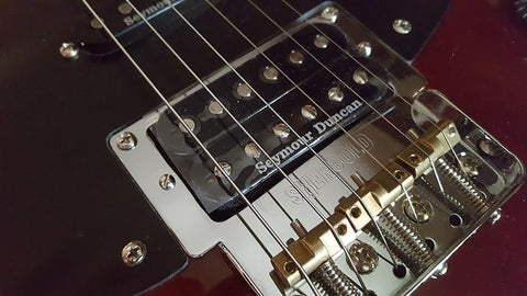 Shergold Guitars Feature Seymour Duncan Pickups