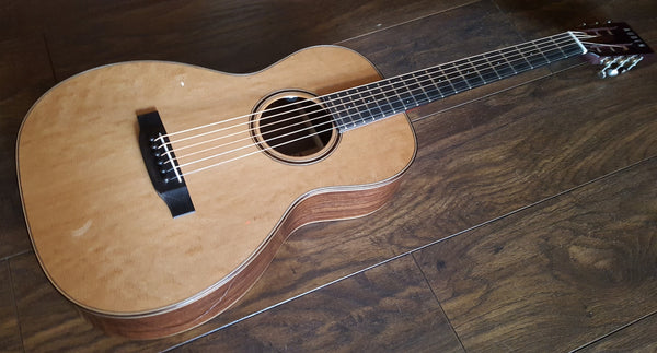 Auden Emily Rose Parlor Acoustic with 12th Fret Neck Join
