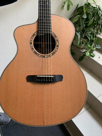 Left Handed Acoustic Guitar - Dowina Ceres