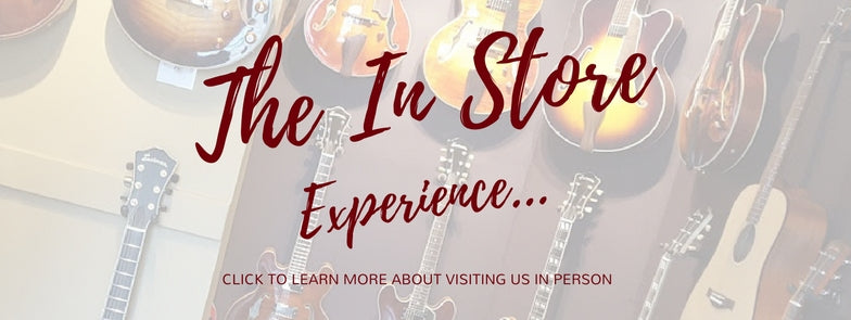 Richards Guitars In Store Experience