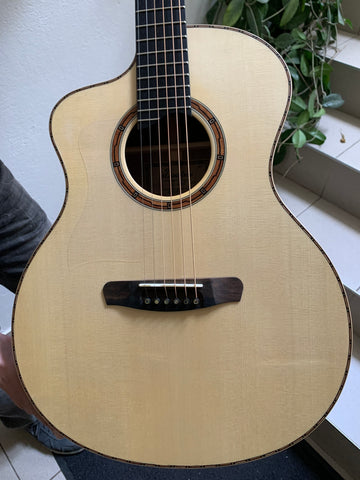 Dowina SOL left handed acoustic guitar hand made in Europe under £1000
