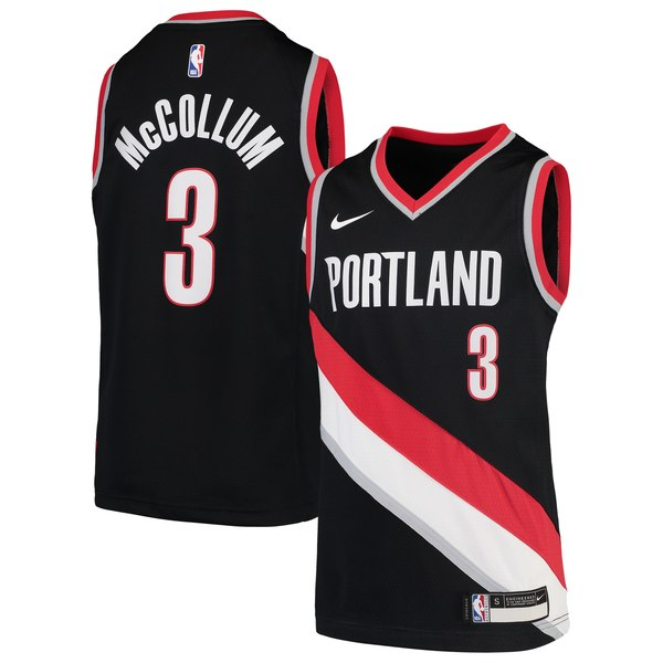Custom Portland Trailblazers Cj McCollum