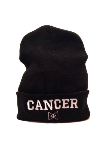 The 'Cancer' Zodiac Beanie