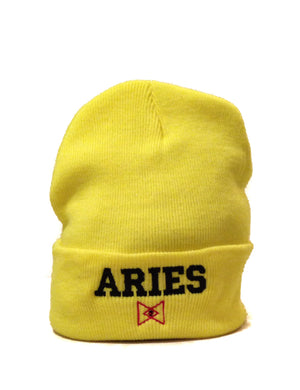 The 'Aries' Zodiac Beanie