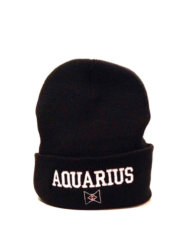 The 'Aquarius' Zodiac Beanie
