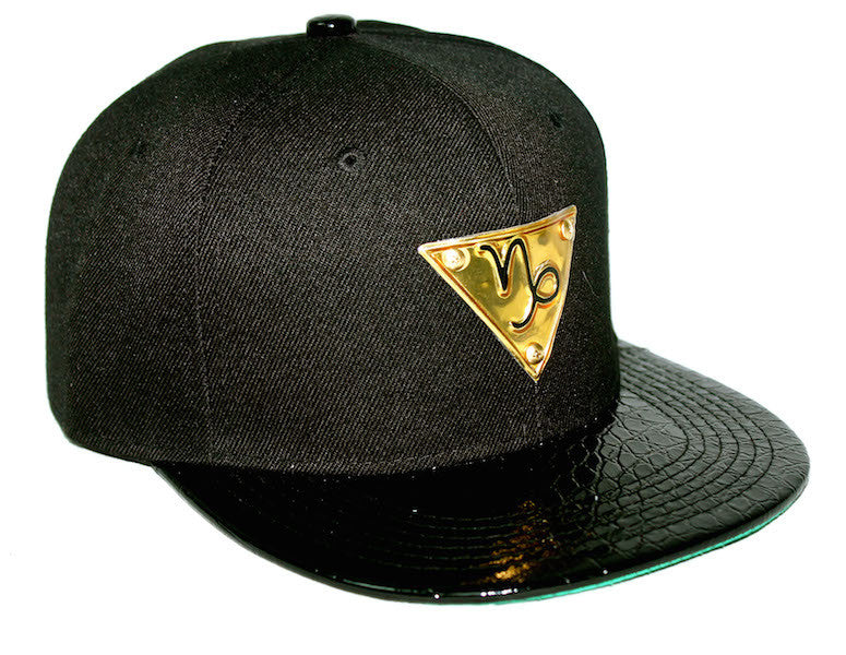 The 'Capricorn' Gold Plate Snapback