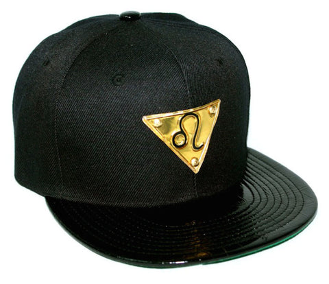 The 'Leo' Gold Plate Snapback