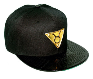 The 'Taurus' Gold Plate Snapback