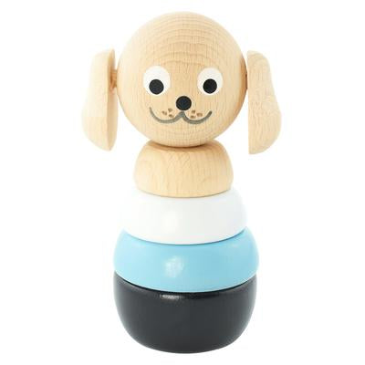 Wooden Stacking Puzzle Dog - Brody