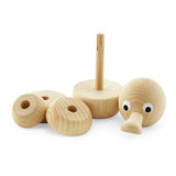 Wooden Stacking Puzzle Duck - Franklin