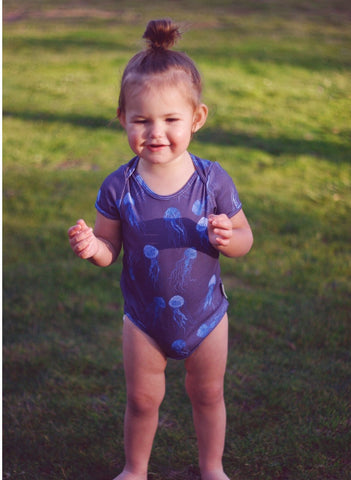 Jellyfish Short Sleeve Onesie