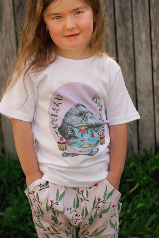 High Tea Childrens Tshirt