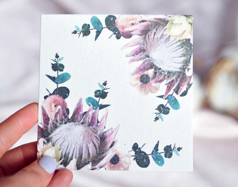 Protea Plain Gift Card