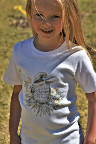 Kookaburra Childrens T-Shirt
