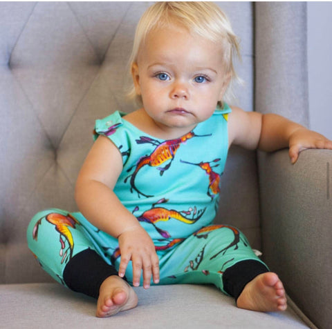 Weedy Sea Dragon Romper