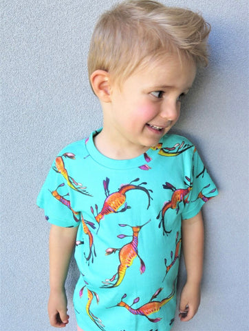 Weedy Sea Dragon Kids Tshirt